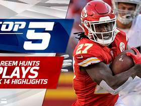 Top 5 Kareem Hunt plays | Week 14