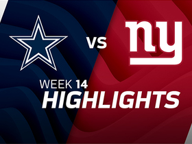 Cowboys vs. Giants highlights | Week 14