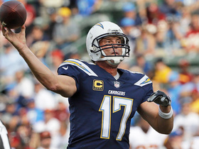 Philip Rivers lobs pass to Keenan Allen for 21 yards