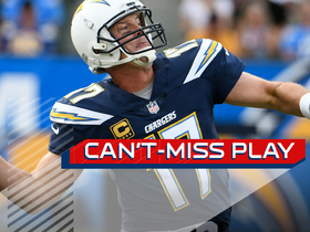 Watch: Can't-Miss Play: Rivers launches 75-yard TD pass to Tyrell Williams