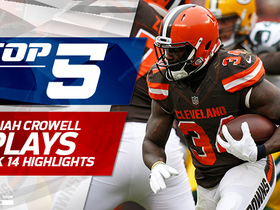 Top 5 Isaiah Crowell runs | Week 14