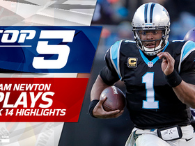 Top 5 Cam Newton plays | Week 14