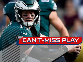 Can't-Miss Play: Wentz Houdinis out of sack, slings dart to Jeffery