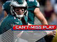 Watch: Can't-Miss Play: Wentz Houdinis out of sack, slings dart to Jeffery