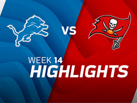 Lions vs. Buccaneers highlights | Week 14