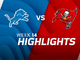 Watch: Lions vs. Buccaneers highlights | Week 14