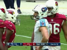 Ryan Succop misses 58-yard field goal attempt by just a few inches