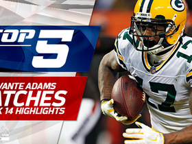 Top 5 Davante Adams catches | Week 14
