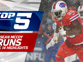 Top 5 LeSean McCoy snow runs | Week 14