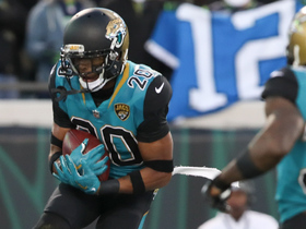 Jalen Ramsey ends 'Hawks drive with end-zone INT