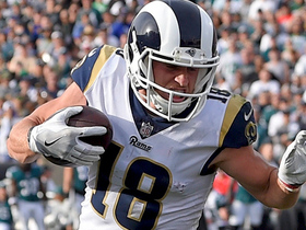 Jared Goff drops in pass to Cooper Kupp for 23-yard gain