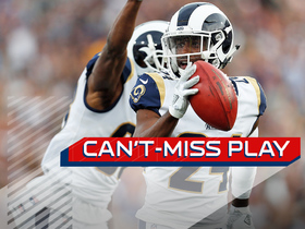 Watch: Can't-Miss Play: Rams block punt, scoop and score go-ahead TD