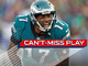 Watch: Can't-Miss Play: Jeffery's vice grip gives Eagles fourth-down TD