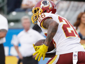 Watch: Bashaud Breeland takes 96-yard interception to the house!