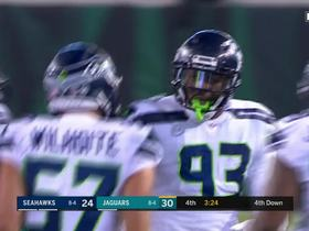 Seahawks D stonewalls Jags on third down, force punt