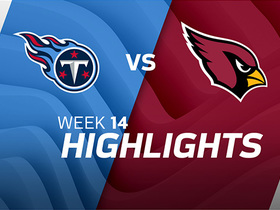 Titans vs. Cardinals highlights | Week 14