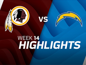 Redskins vs. Chargers highlights | Week 14