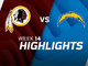 Watch: Redskins vs. Chargers highlights | Week 14