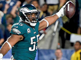 Crazy final play ends with Brandon Graham running in TD