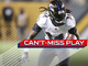 Watch: Can't-Miss Play: Collins plows two defenders on 37-yard run
