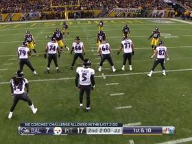 Mike Tomlin lectures his defense after rough start to game