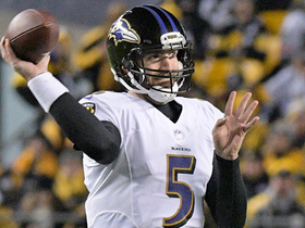 Joe Flacco dials up deep pass play to Mike Wallace