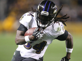 Watch: Alex Collins explodes down the sideline for 21 yards