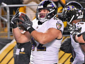 Watch: Ravens reach 30 points on Flacco TD pass to Patrick Ricard