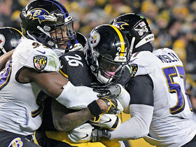 Ravens stonewall Le'Veon Bell on two-point conversion try