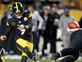 Watch: Chris Boswell nails a 46-yard FG to take the lead