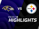 Watch: Ravens vs. Steelers highlights | Week 14