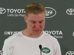 Josh McCown has emotional message for teammates after suffering injury
