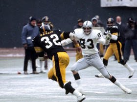 Watch: 1975 AFC Champonship Raiders vs Steelers