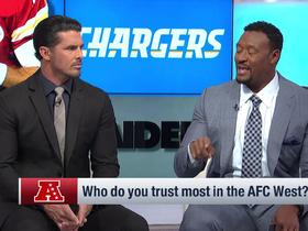 Watch: David Carr: Chargers have been 'most consistent team' over the last two months