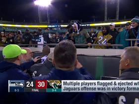 Watch: Rapoport: Jaguars looking to identify and ban fans who threw items at Jefferson