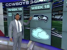 Watch: Dallas Cowboys' 3-game forecast
