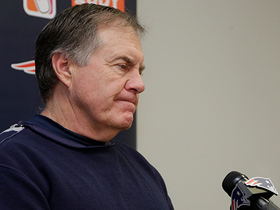 Watch: Belichick on whether Pats were already thinking about Steelers game: 'Give me a break'