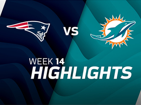 Watch: Patriots vs. Dolphins highlights | Week 14