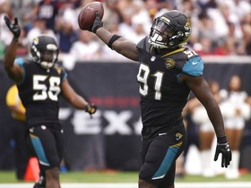 Watch: Yannick Ngakoue: AFC is the Jaguars to take