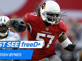 Watch: freeD: Josh Bynes snags the Mariota pass out of the sky for the INT | Week 14