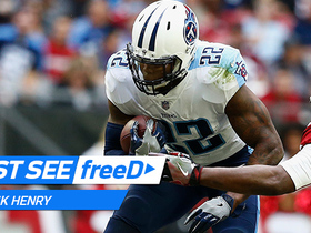 Watch: freeD: Derrick Henry powers through Patrick Peterson for the TD | Week 14
