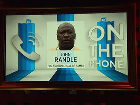 Watch: John Randle talks A Football Life, Randall McDaniel, Everson Griffen