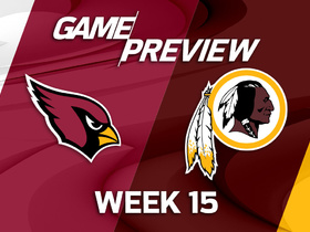 Watch: Cardinals at Redskins Game Preview Week 15