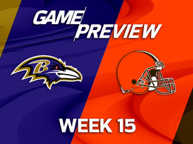Watch: Ravens at Browns Game Preview Week 15