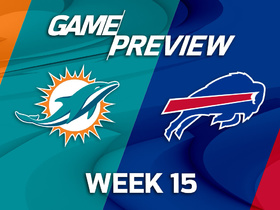 Watch: Dolphins at Bills Game Preview Week 15