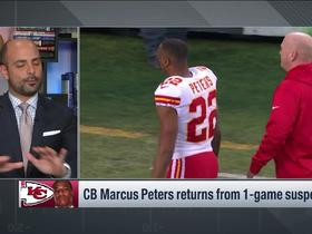 Watch: Marcus Peters will return from 1-game suspension vs. the Chargers