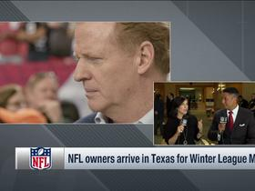 Watch: Goodell's contract remains at forefront of Winter League Meeting