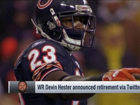 Watch: Devin Hester announces retirement from NFL