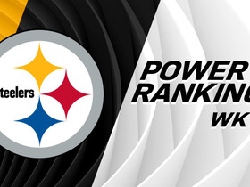 Watch: Power Rankings: Steelers reach No. 1 for first time in 2017 season