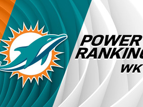 Watch: Power Rankings: Dolphins jump up three spots after win over Pats